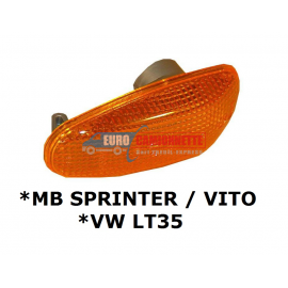 Clignotant feux répétiteur Mercedes Sprinter Vito Volkswagen LT orange dr-gu