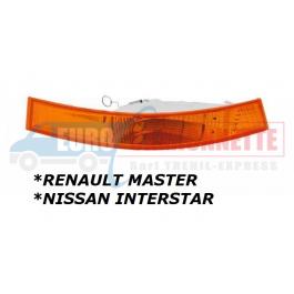 Clignotant avant droite pour Renault Master Nissan Interstar de 2003 à 2010