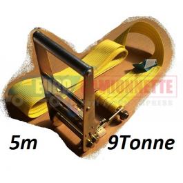 Sangle d'arrimage 5 m 9 Tonne / POIDS LOURD / CAMION