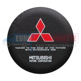 "Housse de roue de secours / O 78cm ""Mitsubishi"""