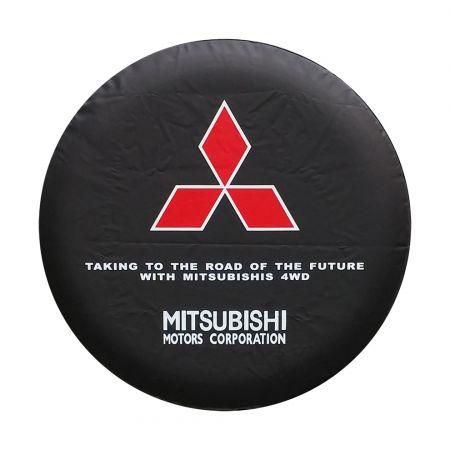 Housse De Roue De Secours Mitsubishi Diamètre 78cm R 15 16 17 Pouces