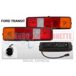 Feu arrière Ford Transit / benne frigo caisse 1986 - 2014
