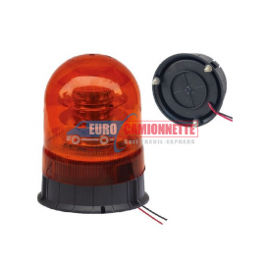 Gyrophare FIXE / LED 12/24V 18x3W